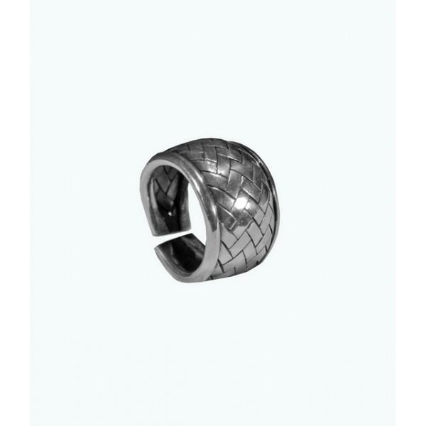 Inel Argint Verigheta Impletitura